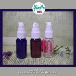 White Cream Pump with PET Bottles EMPTY