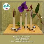 Pen Clip 8 ml 10 ml Fine Mist Atomizer Slim Tubular Frosted Glass Bottles