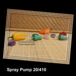 "Pearl Green Spray Pump 20/410 Tube Length 2.45"""